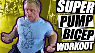 Super Pump Bicep 💪 Workout | With Hypertrophy Coach