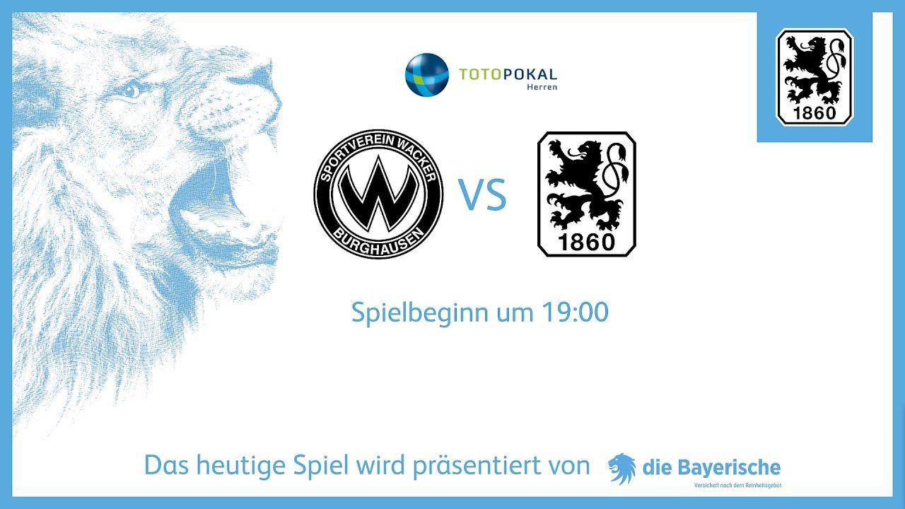 Download TOTO-POKAL LIVE: SV Wacker Burghausen - TSV 1860 München