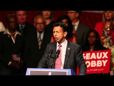 Bobby Jindal announces run for President (video)