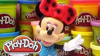 Minnie Mouse - Play Doh - Oyun Hamuru
