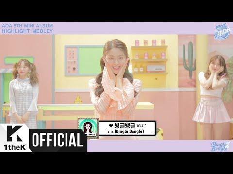 [Teaser] AOA _ 5TH MINI ALBUM [BINGLE BANGLE] MEDLEY CLIP