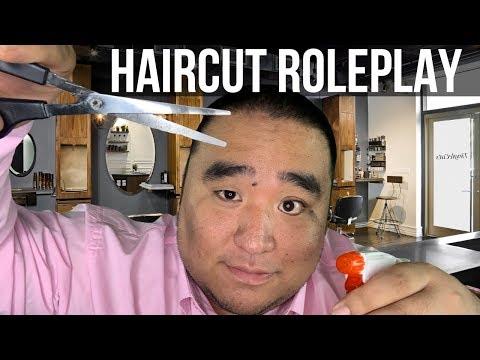 [ASMR] Relaxing Haircut RP ✂️ (Scissors, Brushing, Shampoo) | MattyTingles
