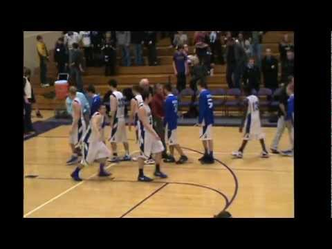Basketball: Sartell at Little Falls Section 8-3A playoff (March 6, 2012)