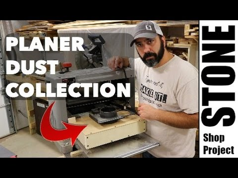 Planer Dust Collection - Shop Made