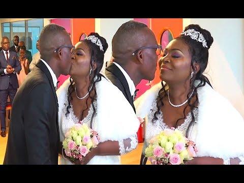 LE GRAND MARIAGE DE L'ANNEE  IRISS ET EDMOND
