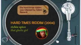 Hard Times Riddim Mix (2004) I Wayne, Bascom X, Richie Spice, Cezar, Capleton, Luciano