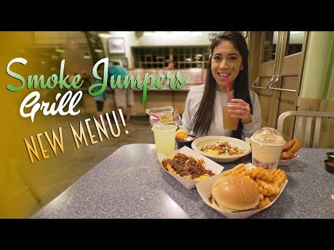 Smoke Jumpers Grill's New Tasty Menu | Disneyland Resort Food