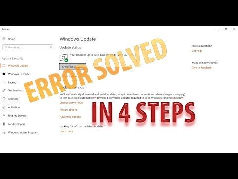 Feature update to Windows 10, version 1709 – Error 0xc0000005