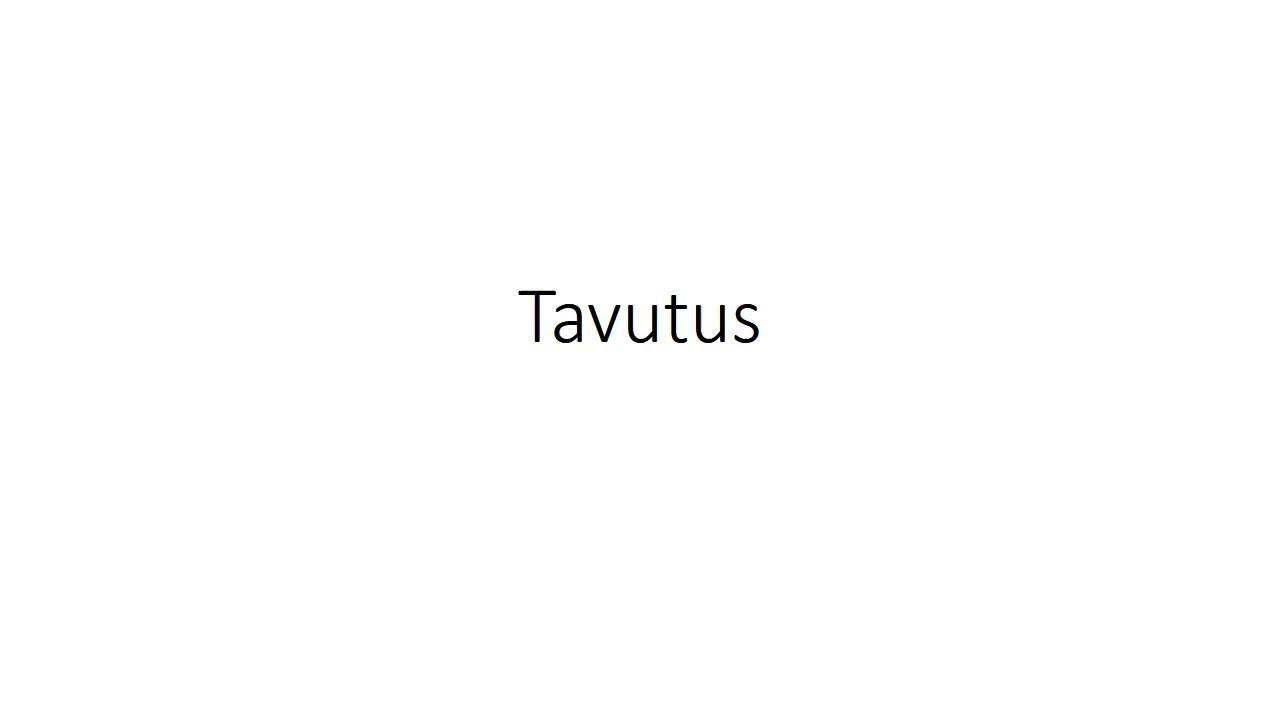 Word Tavutus
