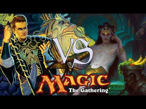 MtG Modern Gameplay - Jund VS Grixis Control
