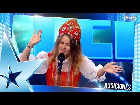 IANA cantó un éxito de NATALIA OREIRO y conquistó al jurado