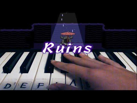 Piano Tutorial | Ruins | Undertale