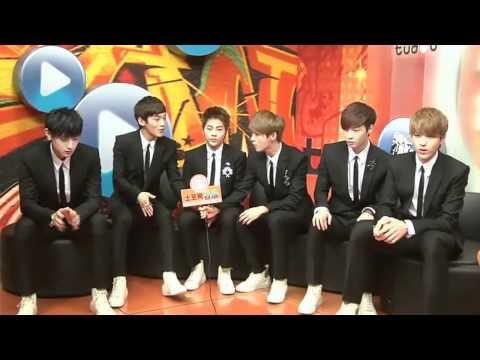 [ENG/HD] 120414 EXO-M Tudou Interview Highlights