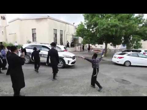 המשך מאמצי המשטרה לסגירת בתי כנסת בבית שמש בעקבות מגפת הקורונה 1/4/2020