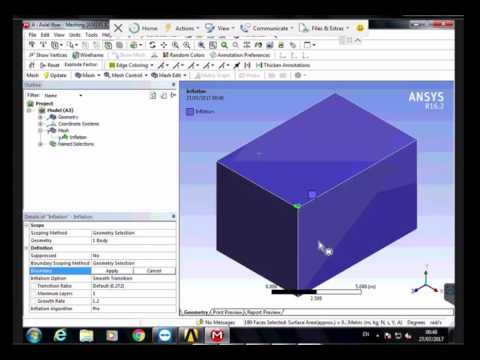 Translational Motion of 3d body (Rov) in fluid flow (water) solution by Ansys Fluent (شرح بالعربي)