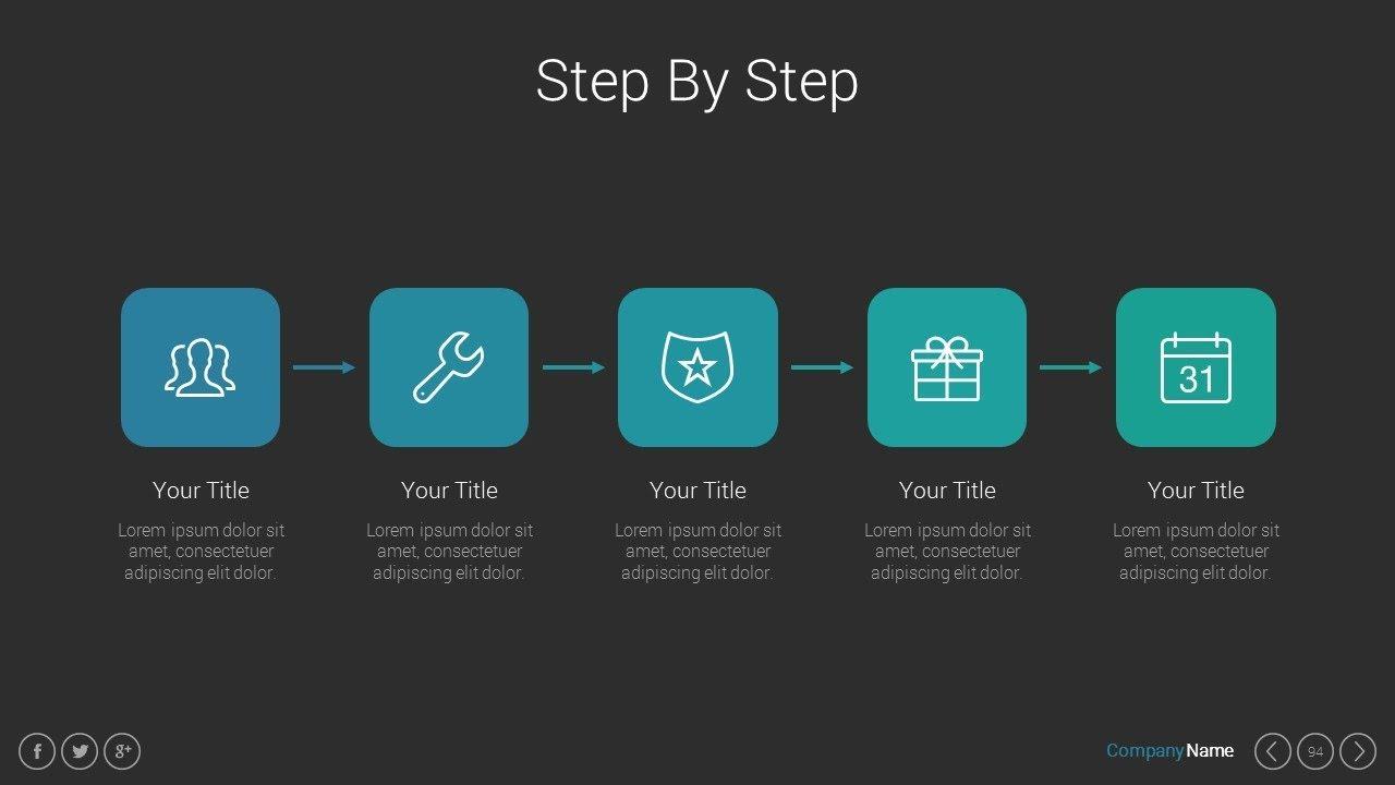 marketing pitch deck powerpoint keynote google slides