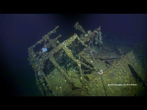 Paul G. Allen's R/V Petrel Explores USS Ward