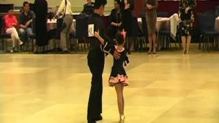 Raha's Moshasha Kid Ballroom Dancing competition 2012 Chacha, Rumba, Samba and Jive