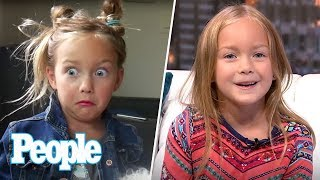 Ava Ryan Breaks Down Her Hilarious Viral Videos: Charlene! I Smell Like Beef! | People NOW | People