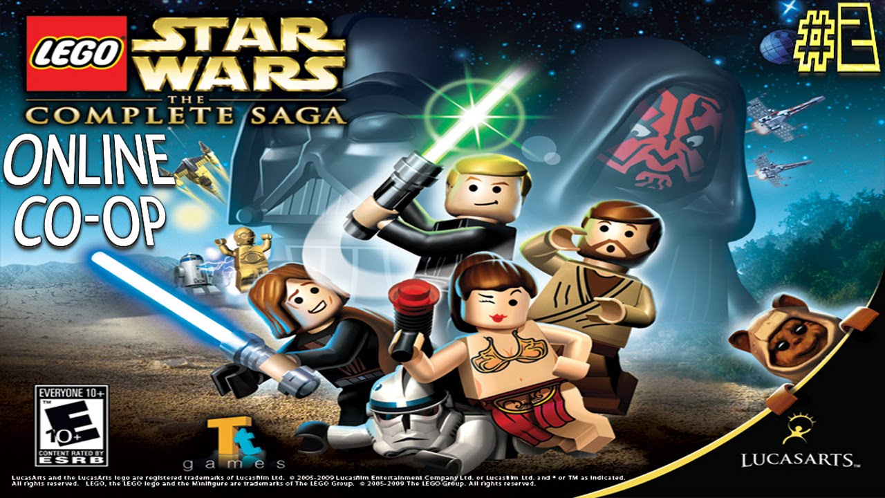 Lego Star Warstcs Online Co Op 2 Poor Performance Youtube