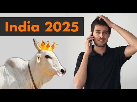 India in 2025 by Dhruv Rathee   Cow Economics