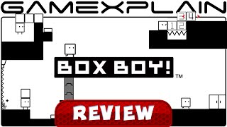 BOXBOY! - Video Review (3DS)