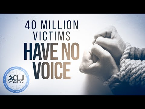 These 40 Million Victims Need Action Now - ACLJ's CeCe Heil at U.N. Human Rights Council