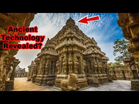 Ancient Kailasa Nathar Temple was NOT built with Stones? Advanced Technology Revealed!
