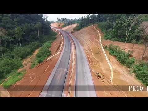 1 Présentation sur l'avancement du Projet Autoroute Yaoundé Douala