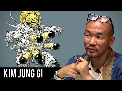 How To Draw Like Kim Jung Gi