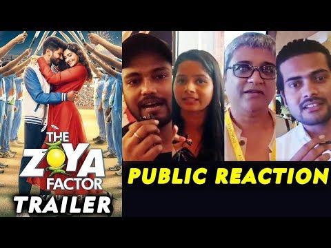 The Zoya Factor Trailer   PUBLIC REACTION   Sonam K Ahuja   Dulquer Salmaan