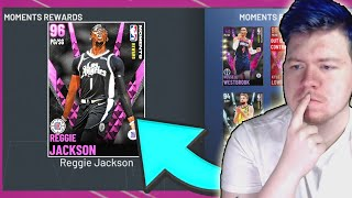 *NEW* PINK DIAMOND REGGIE JACKSON! Moments Rewards Pink Diamond Reggie Jackson NBA 2K21 MYTEAM