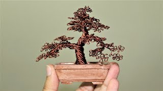 How to make Miniature Wire Tree.