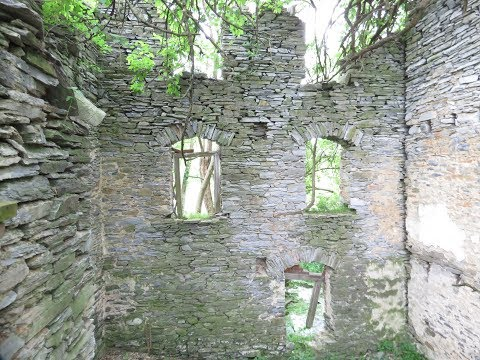 Abandoned Stone Church built in 1743