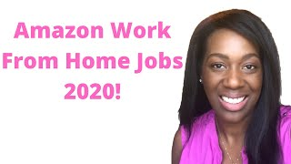 Amazon Work From Home 2020