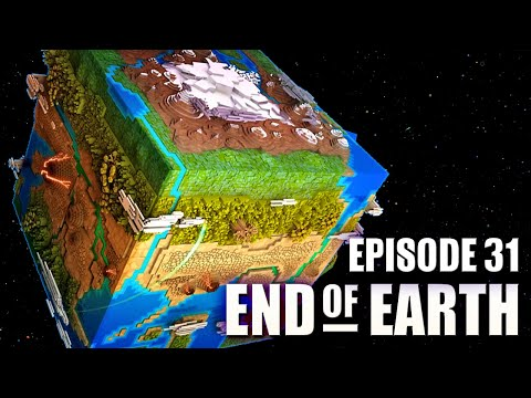 End of Earth | Minecraft Modded Survival Ep 31 | ROCKET FUEL
