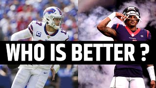 Which NFL Team is Better | Buffalo Bills or Houston Texans?