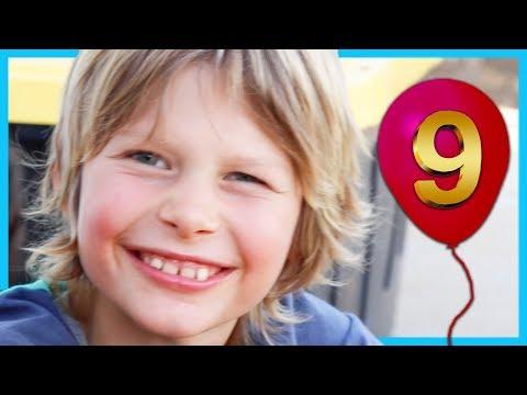 Happy 9th Birthday, Axel!