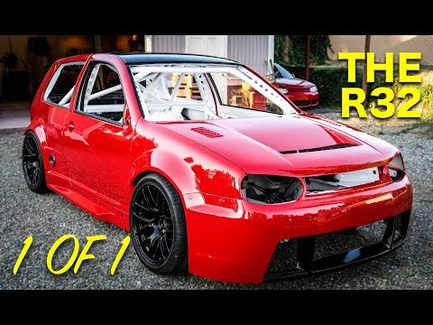 Hand Built R32 ***Assembly And Unveil *** Pt 7