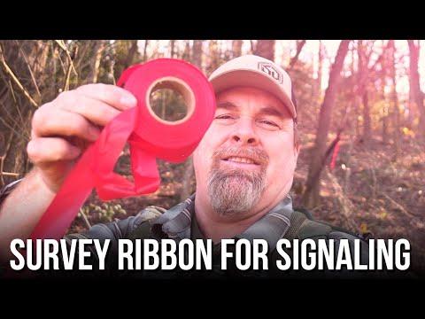 Survey Ribbon for Signaling and Trail Marking