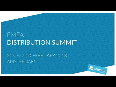 EMEA Distribution Summit 2018 – Amsterdam