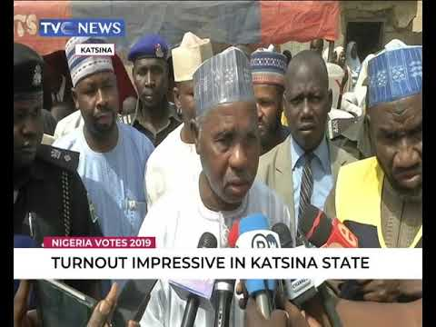 Turnout impressive in Katsina state