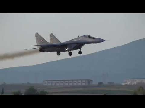 Athens Flying Week 2017 Polish Air Force MIG-29 Demo Team