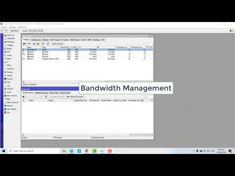 MikroTik bandwidth management (simple or per connection queue)