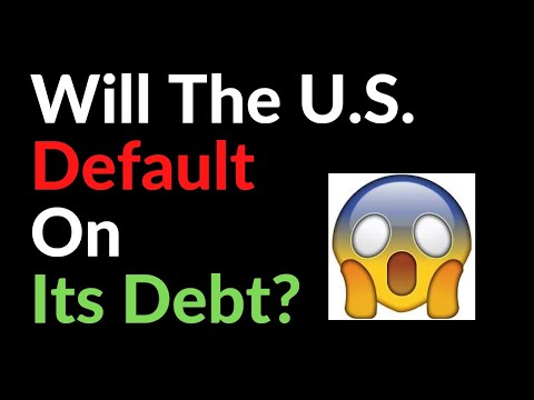 Will The U.S.  Default On Its Debt?