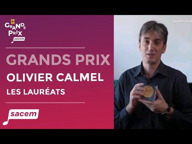 Olivier Calmel - Grand Prix de la musique classique contemporaine | Grands Prix Sacem 2020