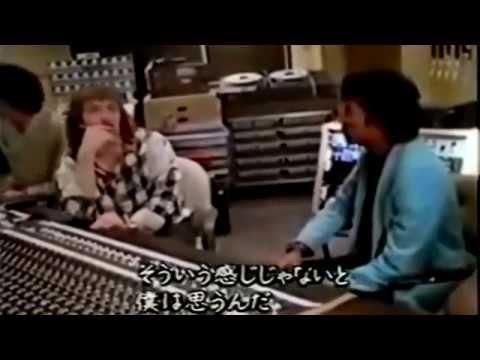 Michael Jackson in the Studio working on