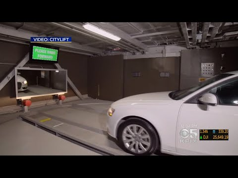 Northern California's First Fully Automated Parking Structure Opens In Oakland