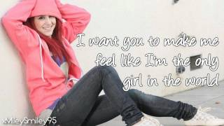 Ariana Grande - Only Girl In The World (with lyrics)
