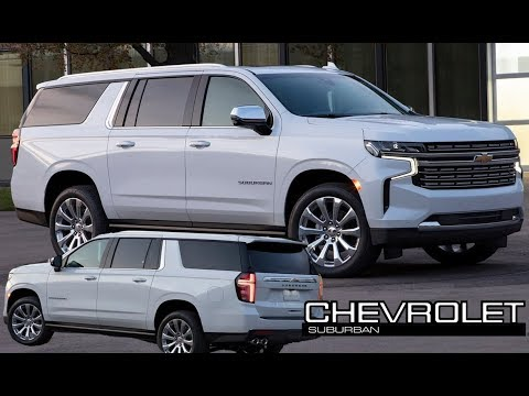 2021 Chevrolet Suburban - Highlights And Features